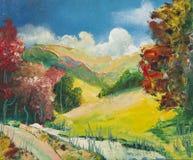 Pinturas al óleo Foto de archivo libre de regalías