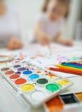 Pinturas brilhantes Foto de Stock Royalty Free