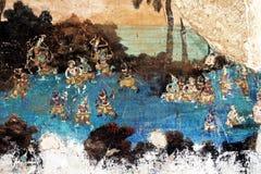 Pinturas camboyanas Imagen de archivo libre de regalías