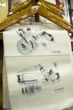 Pinturas chinas del Año Nuevo Fotografía de archivo