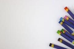 Pinturas coloreadas Foto de archivo libre de regalías