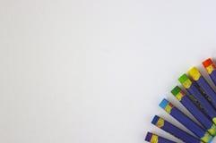 Pinturas coloreadas Imagenes de archivo
