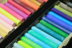 Pinturas coloridas Imagem de Stock