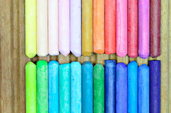 Pinturas coloridas Fotografia de Stock Royalty Free