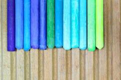 Pinturas coloridas Fotografia de Stock
