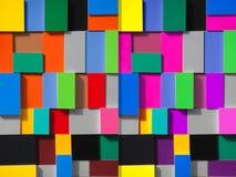 Pinturas coloridas Foto de archivo libre de regalías