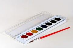 Pinturas da aguarela Fotografia de Stock