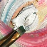 Pinturas de aceite Imágenes de archivo libres de regalías