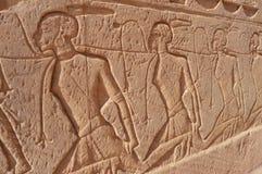 Pinturas de Egipto antiguo Fotografía de archivo
