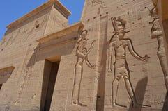 Pinturas de Egipto antiguo Foto de archivo libre de regalías