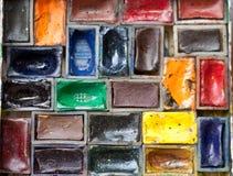 Pinturas de la acuarela Fotos de archivo libres de regalías