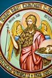 Pinturas de la iglesia Fotografía de archivo libre de regalías