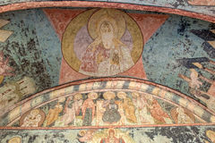 Pinturas de la pared y del techo Foto de archivo libre de regalías