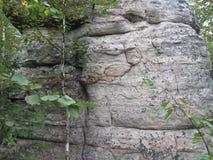 Pinturas de la roca Fotografía de archivo