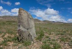 Pinturas de la roca Foto de archivo