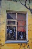pinturas de pared Fotografía de archivo libre de regalías