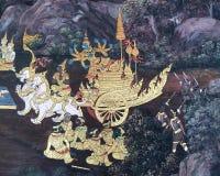 pinturas de pared Fotos de archivo libres de regalías