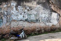 Pinturas de parede velhas Imagens de Stock Royalty Free