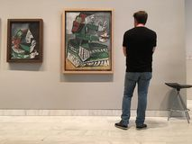 Pinturas de Picasso Imagem de Stock