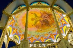 Pinturas del altar del verano en Pochaev Lavra Imagen de archivo libre de regalías
