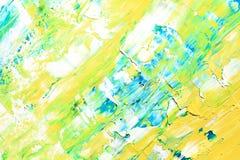 Pinturas del color Fotos de archivo