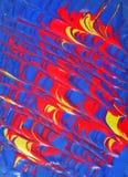 Pinturas del color primario Foto de archivo libre de regalías
