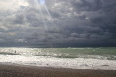 Pinturas del Mar Negro Imagen de archivo