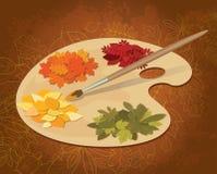Pinturas del otoño Imagen de archivo libre de regalías