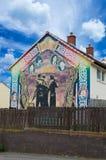 Pinturas murais de Belfast Fotografia de Stock Royalty Free