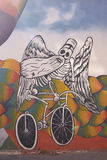 Pinturas murais de Valparaiso imagem de stock royalty free