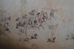 Pinturas murais em Tang Dynasty fotos de stock royalty free