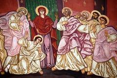 Pinturas religiosas ortodoxas Fotografía de archivo libre de regalías