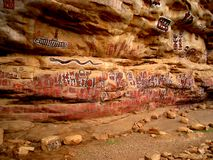 Pinturas tribais africanas Imagem de Stock Royalty Free