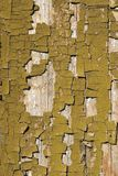 Pinturas velhas na madeira Foto de Stock Royalty Free