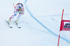 PINTURAULT Alexis in FIS Alpien Ski World Cup - 3de SUPER MENSEN Stock Afbeelding