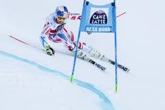 PINTURAULT Alexis in gi di Men's della tazza di Audi Fis Alpine Skiing World Fotografia Stock Libera da Diritti