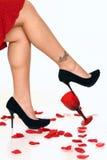 pinup ног Стоковая Фотография RF