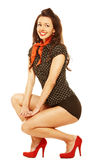 Pinup girl Stock Photography