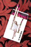 Pinup Girl Matchstick Box Royalty Free Stock Photography