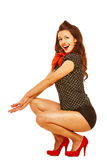 Pinup girl Royalty Free Stock Photo