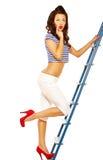 Pinup girl Stock Image