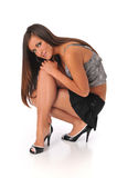 Pinup Mädchen Lizenzfreies Stockfoto