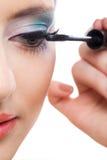 Pinup makeup Fotografia Stock