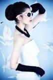 Pinup moda obraz royalty free