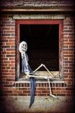 Pinup Skeleton Royalty Free Stock Photos