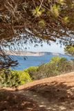 Comino Tower Framed stock images
