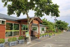 Pinweixuan fruit shop in the village Royalty Free Stock Image