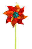 pinwheel ανεμόμυλος παιχνιδιών Στοκ Εικόνα