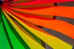Pinwheel гордости lgbt радуги закручивая Символ сексуальных меньшинств, геев и лесбиянка стоковое фото rf