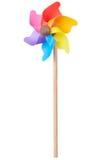 Pinwheel, красочная игрушка стоковые фотографии rf